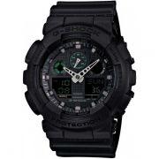 Relógio Casio G-Shock GA-100MB-1ADR Resistente a choques