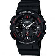 Relógio Casio G-Shock GA-120-1ADR Resistente a choques