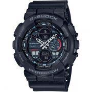 Relógio Casio G-Shock GA-140-1A1DR Resistente a choques