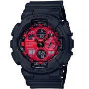 Relógio Casio G-Shock GA-140AR-1ADR Resistente a choques