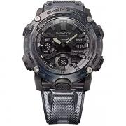 Relógio Casio G-Shock GA-2000SKE-8ADR Série Transparent Pack Carbon Core Guard