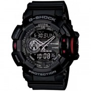 Relógio Casio G-Shock GA-400-1BDR Rotary Switch Resistente a choques