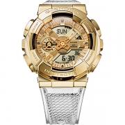 Relógio Casio G-Shock GM-110SG-9ADR Caixa em Aço Inoxidável