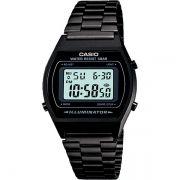 Relógio Casio Retrô Digital Vintage B640WB-1ADF Alarme Cronômetro