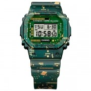 Relógio G-Shock DWE-5600CC-3DR Circuit Board Camouflage Carbon Core Guard