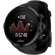 Relógio GPS c/ Monitor Cardíaco no Pulso Suunto Spartan Sport Black