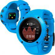 Relógio GPS c/ Monitor Cardíaco no Pulso Suunto Spartan Trainer Azul