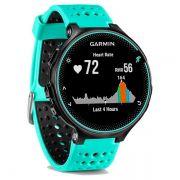 Relógio GPS Frequencímetro de Pulso Garmin Forerunner 235 Azul Gelo/Preto