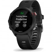 Relógio GPS Frequencímetro de Pulso Garmin Forerunner 245 Music Preto/Vermelho