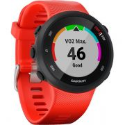 Relógio GPS Frequencímetro de Pulso Garmin Forerunner 45 Vermelho