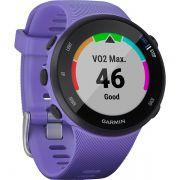 Relógio GPS Frequencímetro de Pulso Garmin Forerunner 45S Roxo