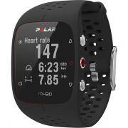 Relógio GPS Monitor Cardíaco de Pulso Polar M430 Preto