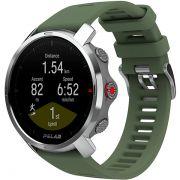 Relógio GPS Multiesportes Monitor Cardíaco de Pulso Polar GRIT X Verde