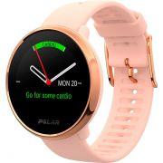 Relógio GPS Multiesportes Monitor Cardíaco de Pulso Polar Ignite Rosé