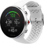 Relógio GPS Multiesportes Monitor Cardíaco de Pulso Polar Vantage M Branco