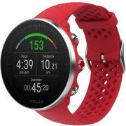 Relógio GPS Multiesportes Monitor Cardíaco de Pulso Polar Vantage M Vermelho