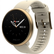 Relógio GPS Multiesportes Monitor Cardíaco Polar Ignite 2 Dourado Champagne