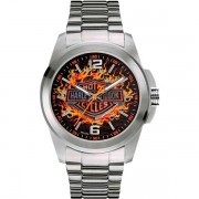 Relógio Masculino Analógico Bulova Harley Davidson WH30528T