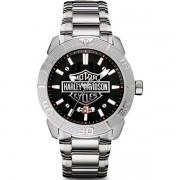 Relógio Masculino Analógico Bulova Harley Davidson WH30546T