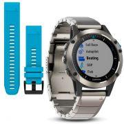 Relógio Quatix 5 Safira - Smartwatch Gps Náutico Multiesportivo