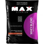 WHEY BLEND MAX TITANIUM 2Kg Refil - Chocolate