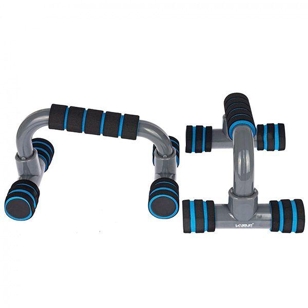 Apoio para Flexão de Braço Azul - LIVEUP - LS3164E  - Treinit