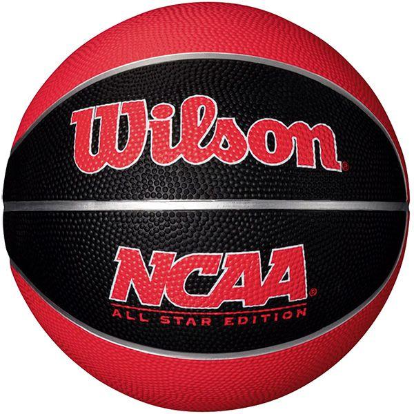 Bola de Basquete Wilson Mini NCAA® Vermelha  - TREINIT