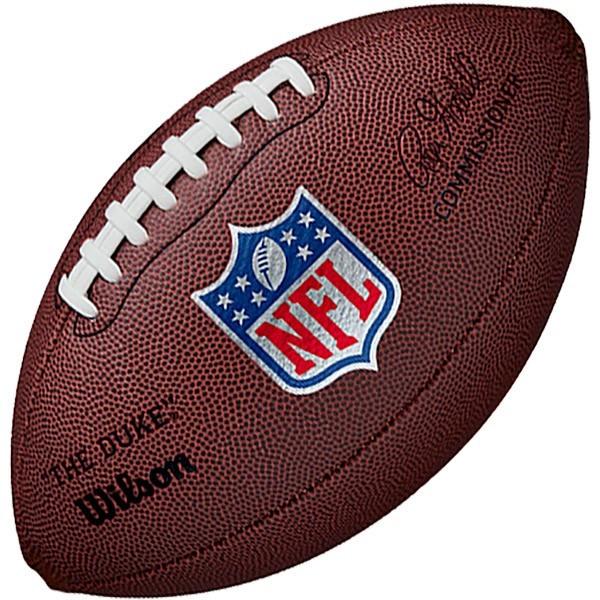 Bola de Futebol Americano WILSON NFL Duke Pro Color - Réplica Tamanho Oficial  - TREINIT