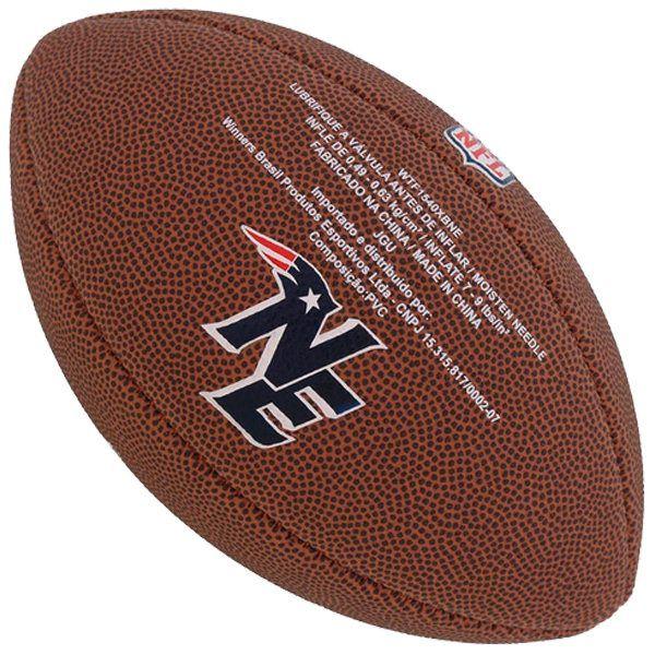 Bola de Futebol Americano Wilson NFL Team NEW ENGLAND PATRIOTS  - Treinit