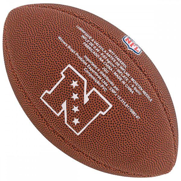 Bola de Futebol Americano Wilson NFL Team NEW ENGLAND PATRIOTS  - Loja Prime