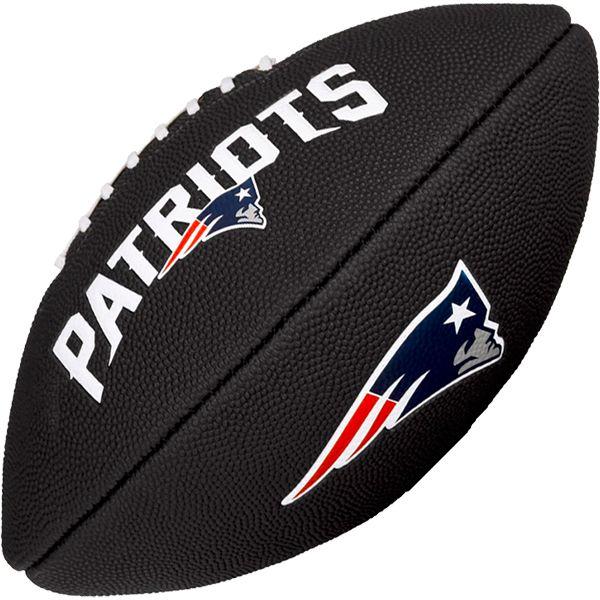 Bola de Futebol Americano Wilson NFL Team NEW ENGLAND PATRIOTS Black  - TREINIT