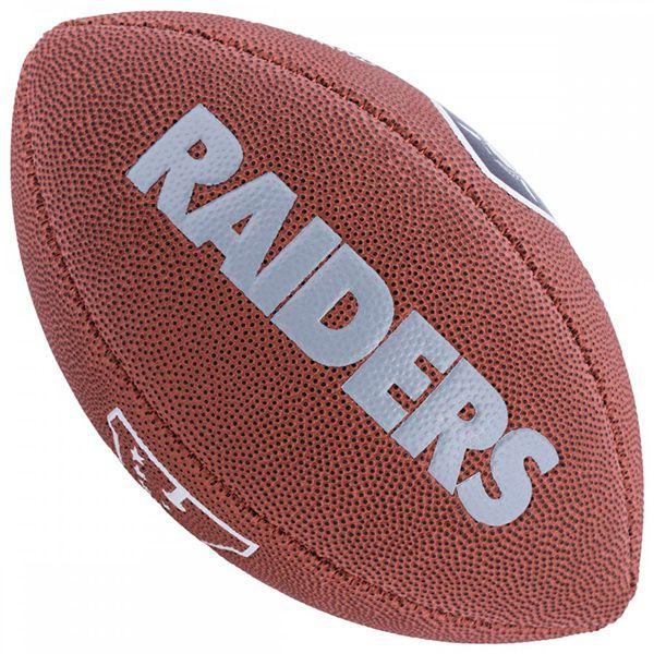 Bola de Futebol Americano Wilson NFL Team OAKLAND RAIDERS  - Loja Prime