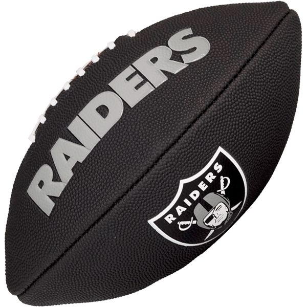 Bola de Futebol Americano Wilson NFL Team OAKLAND RAIDERS Black  - Loja Prime