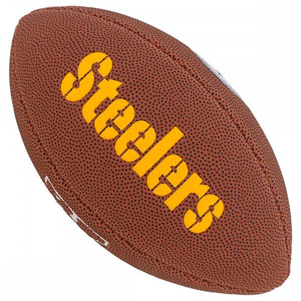 Bola de Futebol Americano Wilson NFL Team PITTSBURGH STEELERS  - Loja Prime