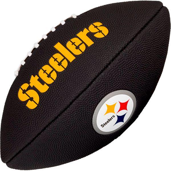 Bola de Futebol Americano Wilson NFL Team PITTSBURGH STEELERS Black  - Loja Prime