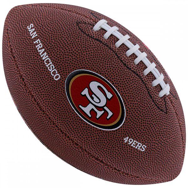 Bola de Futebol Americano Wilson NFL Team SAN FRANCISCO 49ERS - Loja Prime 978bd65e21807