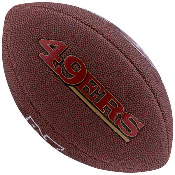 Bola de Futebol Americano Wilson NFL Team SAN FRANCISCO 49ERS  - TREINIT