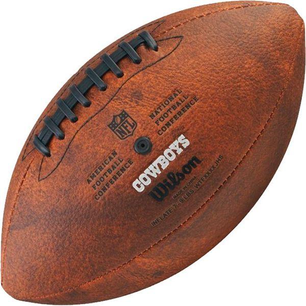 Bola de Futebol Americano Wilson THROWBACK NFL Jr. DALLAS COWBOYS  - TREINIT