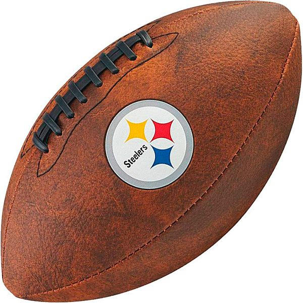 Bola de Futebol Americano Wilson THROWBACK NFL Jr. PITTSBURGH STEELERS  - Treinit