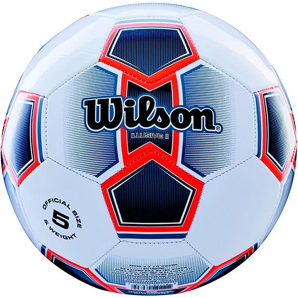Bola de Futebol Wilson Illusive II Laranja n°5  - Loja Prime