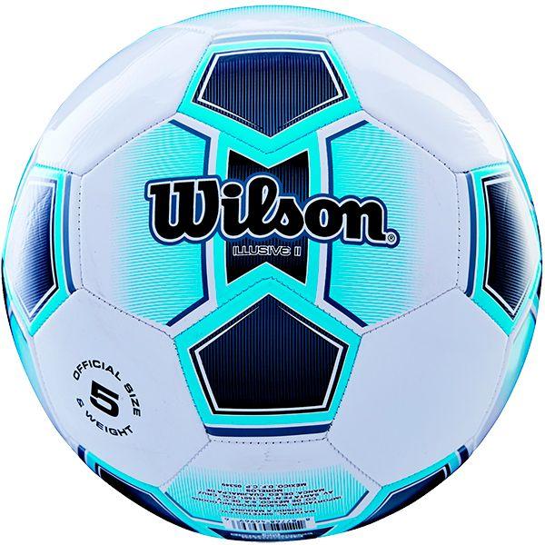 3a94f74a1 Bola de Futebol Wilson Illusive II Azul n°5 - Loja Prime