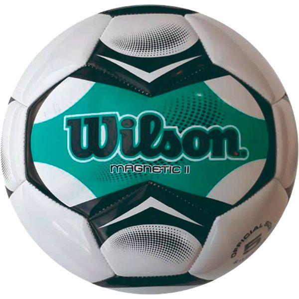 Bola de Futebol Wilson Magnetic II Verde n°5  - Treinit