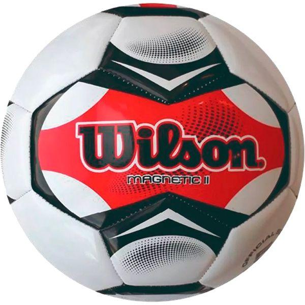 Bola de Futebol Wilson Magnetic II Vermelha n°5  - Loja Prime