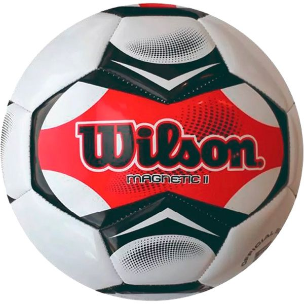 Bola de Futebol Wilson Magnetic II Vermelha n°5  - TREINIT