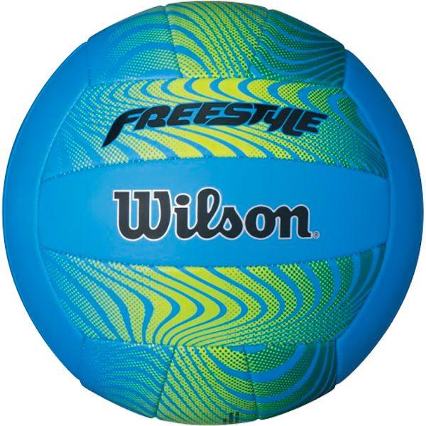 Bola de Vôlei Wilson Freestyle Azul  - Loja Prime