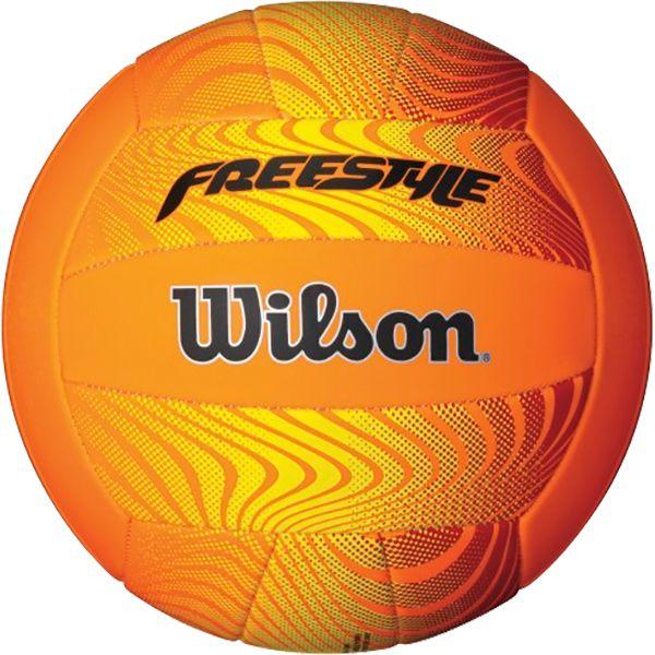 Bola de Vôlei Wilson Freestyle Laranja  - Loja Prime