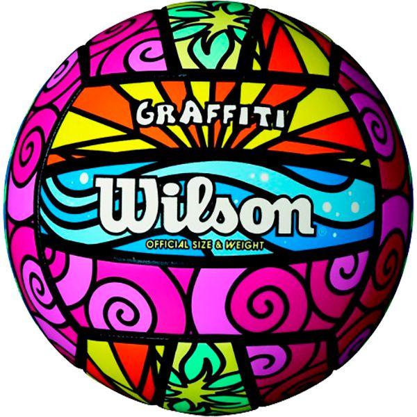 Bola de Vôlei Wilson GRAFFITI  - Loja Prime