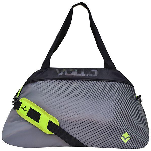 Bolsa Esportiva Vollo Workout Cinza VBG004  - Loja Prime