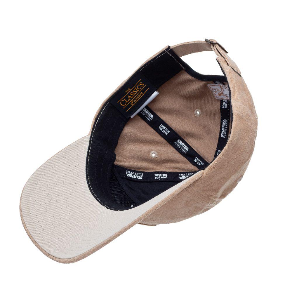 Boné Starter Low Dad Hat Aba Curva Bege  - Treinit