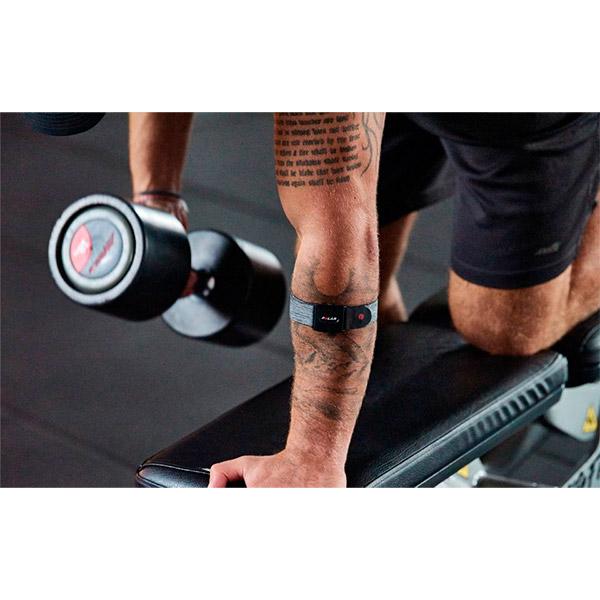 Braçadeira c/ Sensor Óptico de Frequência Cardíaca POLAR VERITY SENSE  - TREINIT
